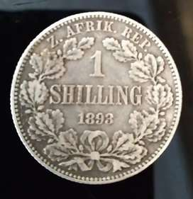 1893 Shilling - 2020 Valued at R30000 in EF Condition