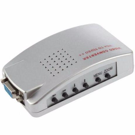 Конвертер ВИДЕО из VGA в AV RCA (тюльпан) S-video, переходник адаптер Кривой Рог - изображение 6
