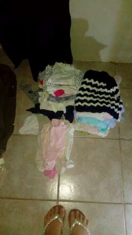 Mixed sizes baby clothes
