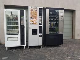 Zestaw Vending automaty sprzedające kawomat