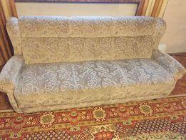 Komplet wypoczynkowy kanapa niemieckie, zadbane zdrowotne