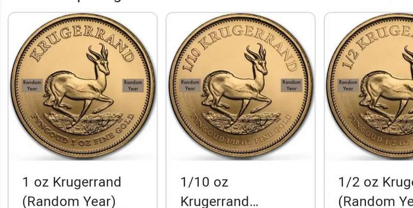 Kruger rand wanted, will pay cash, R33500 0