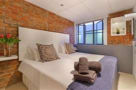Holiday accommodation in Cape Town city centre