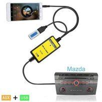 AUX аукс Mazda Toyota USB MP3 адаптер для магнитолы аналог YATOUR
