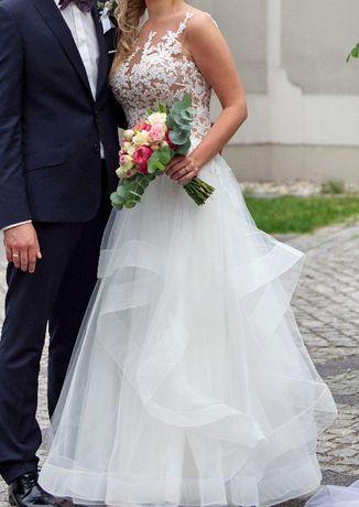 suknia ślubna piękna włoska rozmiar 38 Częstochowa - image 1