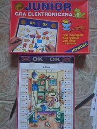 Gra junior planszowa elektroniczna dla dzieci