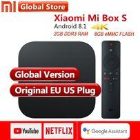 Xiaomi Mi TV Box S 2/8 Международная версия + чехол