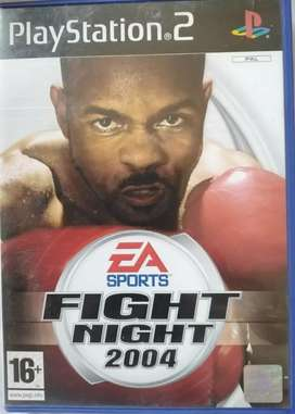 EA Sports Fight Night 2004 Playstation 2 CD