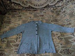 Кофта, свитер, ветровка, жакет кардиган куртка большого размера