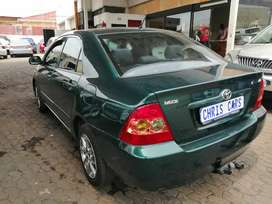2006 Toyota Corolla 1.4 engine capacity.