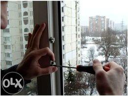 Ремонт та регулювання металопластикових вікон і дверей