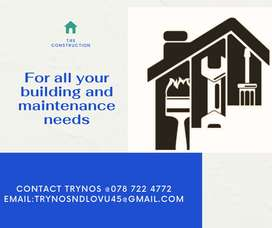 For all your building and maintenance needs