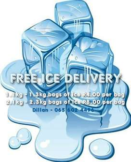 Free ice delivery