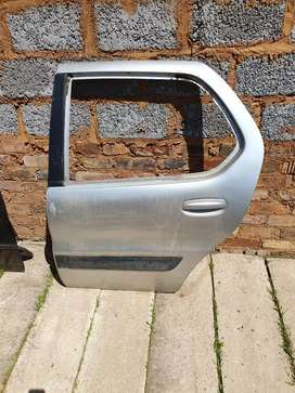 Tata indica rear left door shell
