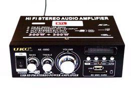 Усилитель Звука UKC AK-699D FM USB Bluentooth 2x300 Вт Авто Усилитель