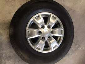 Ford Ranger Mags and Tyres x4