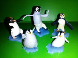 Лот - киндер Пингвины
