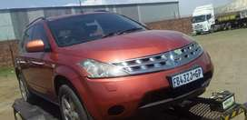 Nissan murano breaking for spares