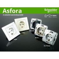 Розетки, вимикачі серії Asfora Schneider Electric по оптових цінах