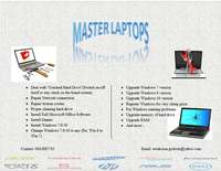 Image of Repair Laptops physical damages, Installation Windows, Software, Anti-