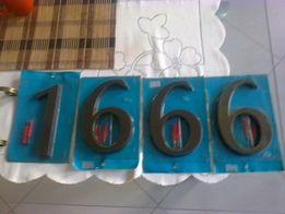 cyfry na dom wysokości 18 cm