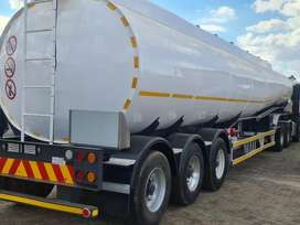 45 000Ltrs  FUEL TANKER TRUCKS FOR HIRE AT ONLY R100000 PER MONTH