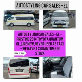 AUTOSTYLING EL-QUANTUM 2.5D GL -QUALITY NON TAXI QUANTUMS WITH FSH