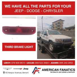 Selling Jeep Cherokee WJ 2.7 CRD Third Brake Light and other parts