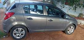 This is an Opel Corsa 2012 model, and it is still in good condition.