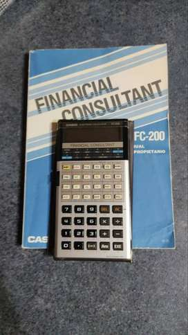CASIO FC200 Financial Consultant