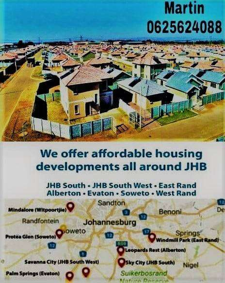 STOP RENTING!! OWN A HOUSE FROM R 4 800 P/M 0