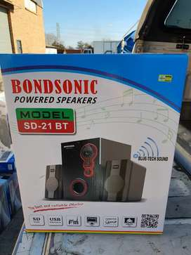 Bondsonic Pc Speakers New R470