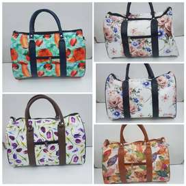 Stylish Floral Travel Bags