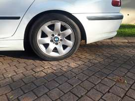 Bmw rims 4 with tires 16 inch