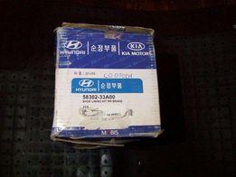 Тормозные колодки задние оригинал Hyundai 58302-33A00