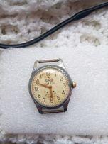 Часы наручные антикварные с секундомером СССР!