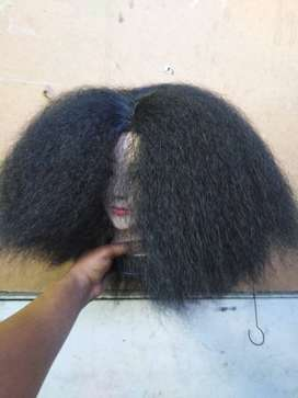 Synthetic wigs for R80.please read the description very well.