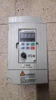 Частотник, VFD Delta 1.5Kw к ЧПУ. Частотный преобразователь.