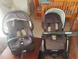 3 in 1 Travel Pram system