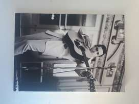 Printed canvasses of various music stars or performers  for sale