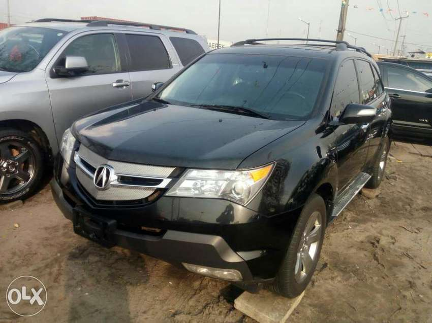 Foreign used 2009 Acura MDX. Direct tokunbo 0