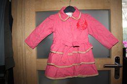 Plaszczyk kurtka dziewczynka 1 1/2-2 latka next wiosna okazja