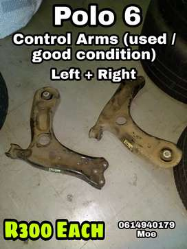 Polo 6 control Arms with bushes