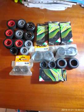 Brand new F1 RC car tires never been used