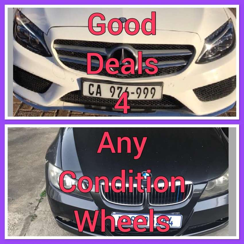 Good condition BMW's & Mercs wanted