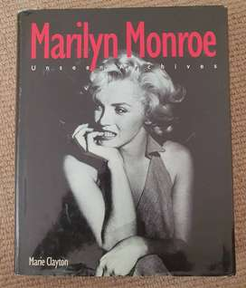 Marilyn Monroe Unseen Archives Book by Marie Clayton
