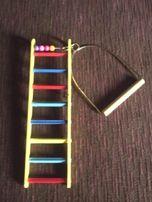лестница+жёрдочка для птицы