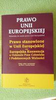 Prawo Unii Europejskiej oraz Europejska Konwencja o ochronie praw czł.