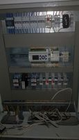 Щит управления вентиляцией и тп. Программирование, изготовление
