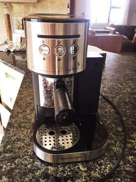 One touch automatic Russell Hobbs coffee machine